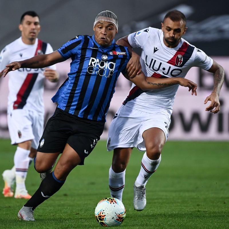 Muriel's Official Atalanta Signed Shirt, 2019/20