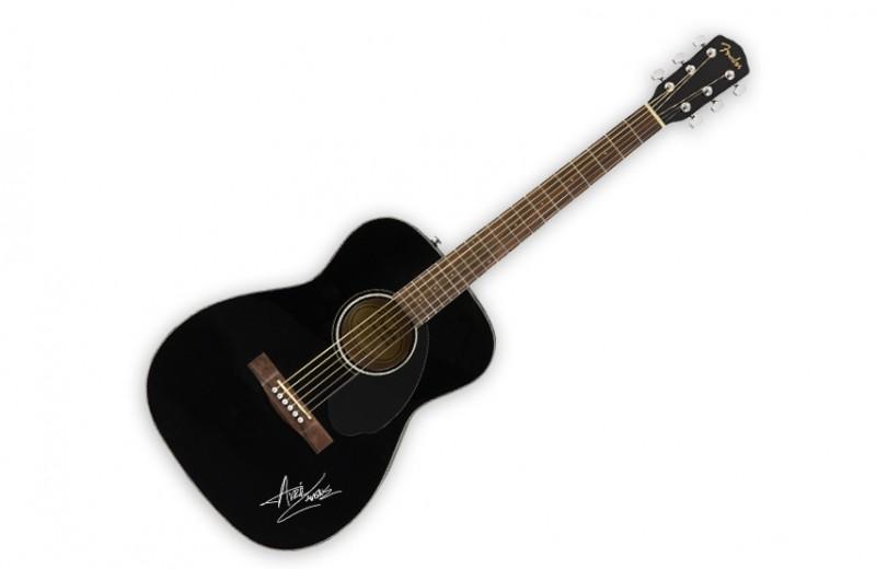 Signed Fender Guitar