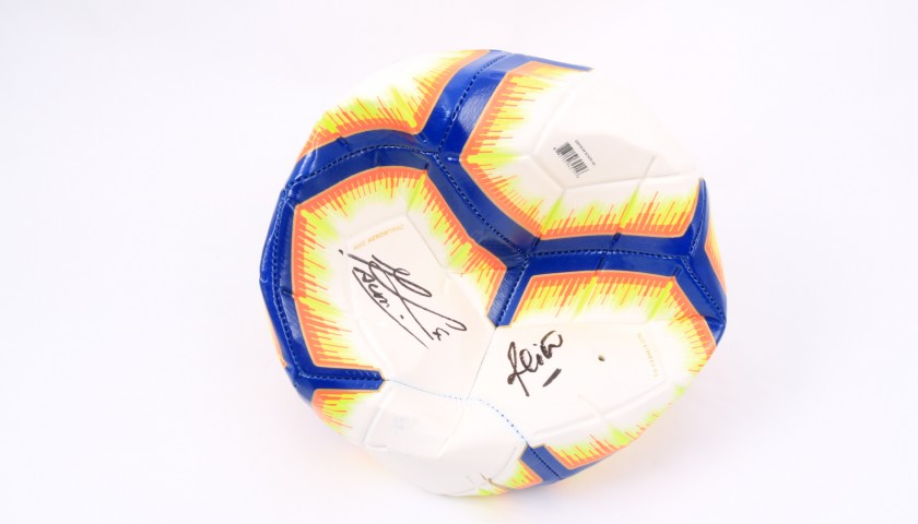 Official Serie A 2018/19 Football - Signed by the team