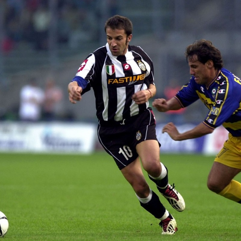 Del Piero's Official Juventus Signed Shirt, 2002/03