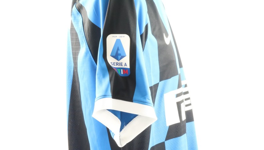 Lukaku's Authentic Inter Signed Shirt, 2019/20