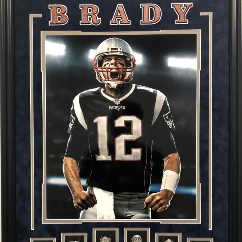 Tom Brady Replica Rings Shadowbox