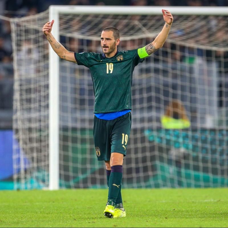 Bonucci's Match Shirt, Italy-Greece 2019