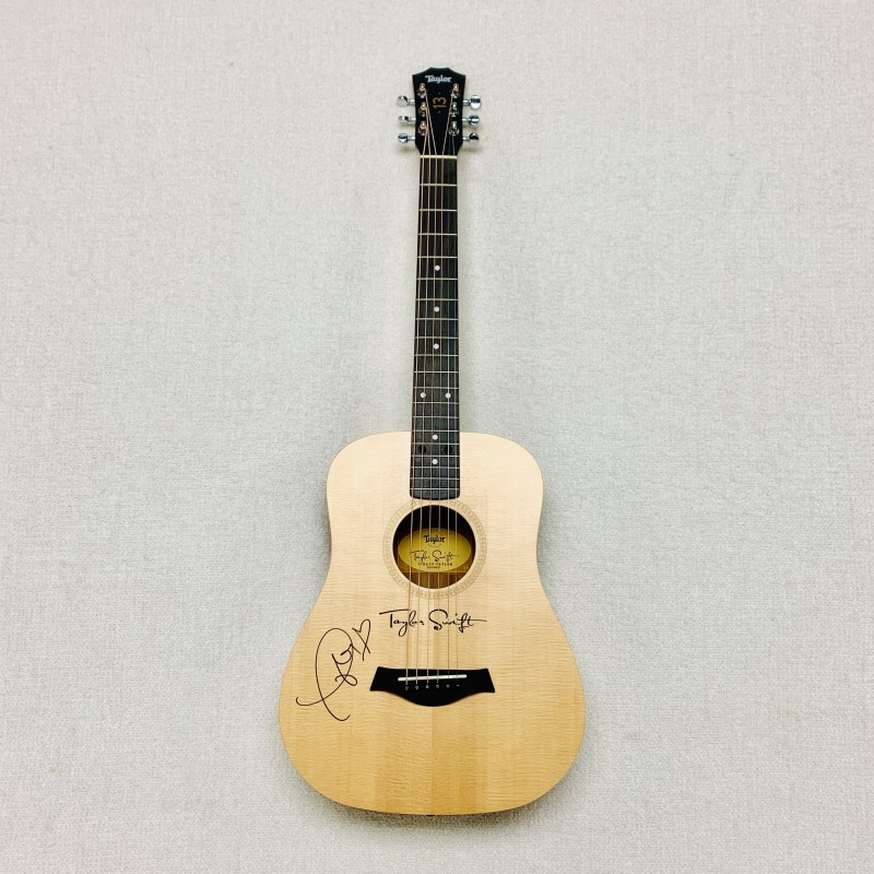 Acoustic Guitar Signed by Taylor Swift