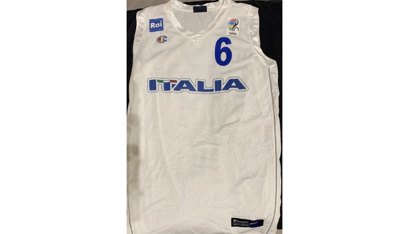 Jersey Worn by Giulio Maria Papi for the European Championships Worcester 2015