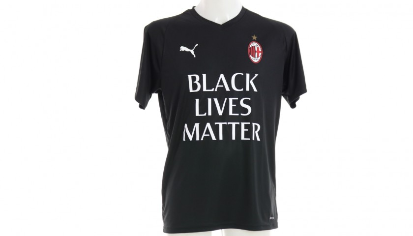 "AC Milan Training Shirt, ""Black Lives Matter"""