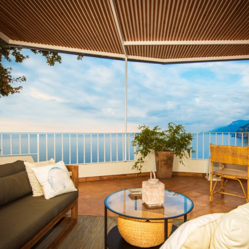 2 Nights in the Guest House at Villa Nuvolari in Positano on the Amalfi Coast