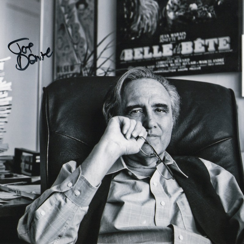 Photograph Signed by Director Joe Dante