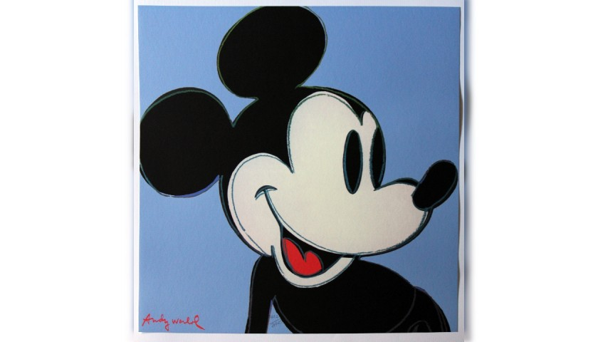 'Mickey Mouse' - Offset Lithograph by Andy Warhol