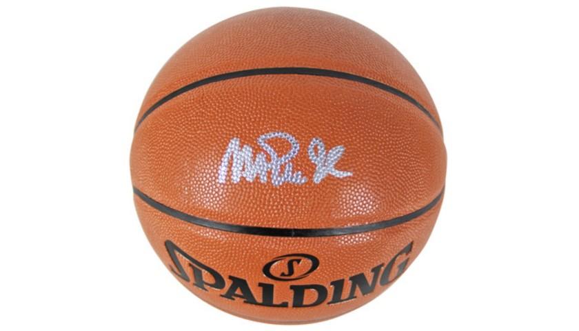 Magic Johnson Hand Signed NBA Basketball