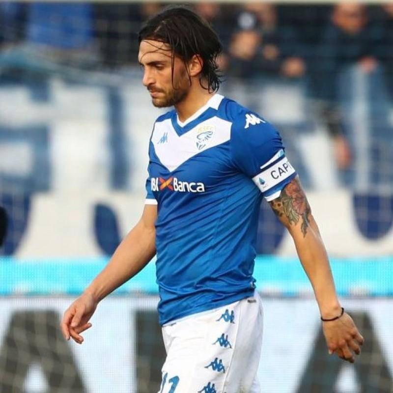 Torregrossa's Signed Shirt with Unicef Patch, Brescia-Atalanta