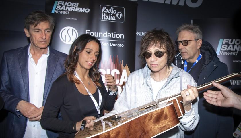 Sanremo 2020 Artists Signed Guitar