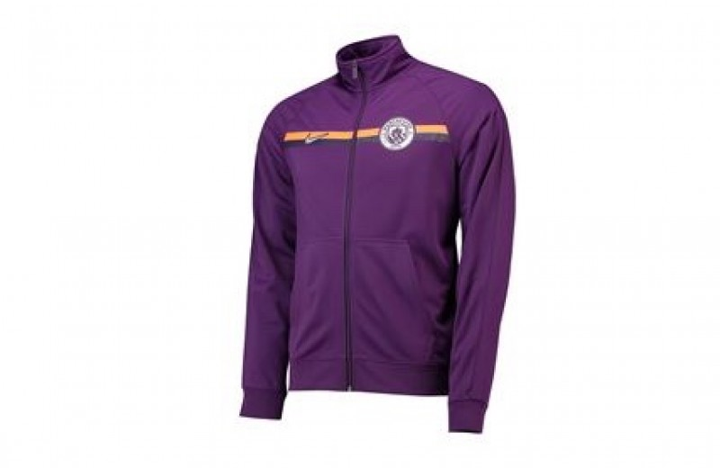 Player Issued Manchester City Nike Zip-up Jacket - S