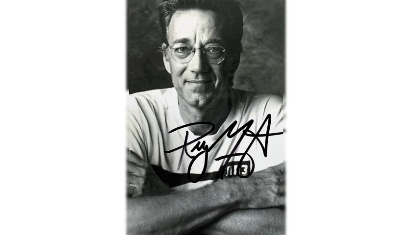 Ray Manzarek Signed Photograph