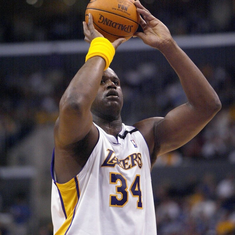 Shaquille O'Neal's Official LA Lakers Signed Jersey