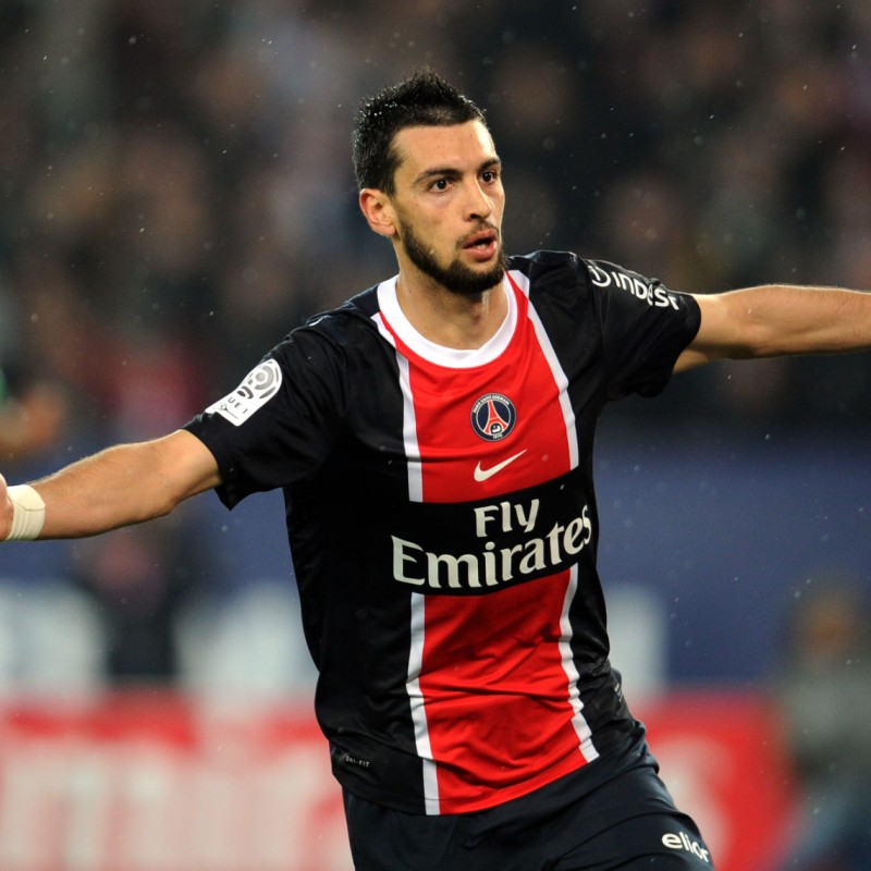 Pastore's Official PSG Signed Shirt, 2011/12