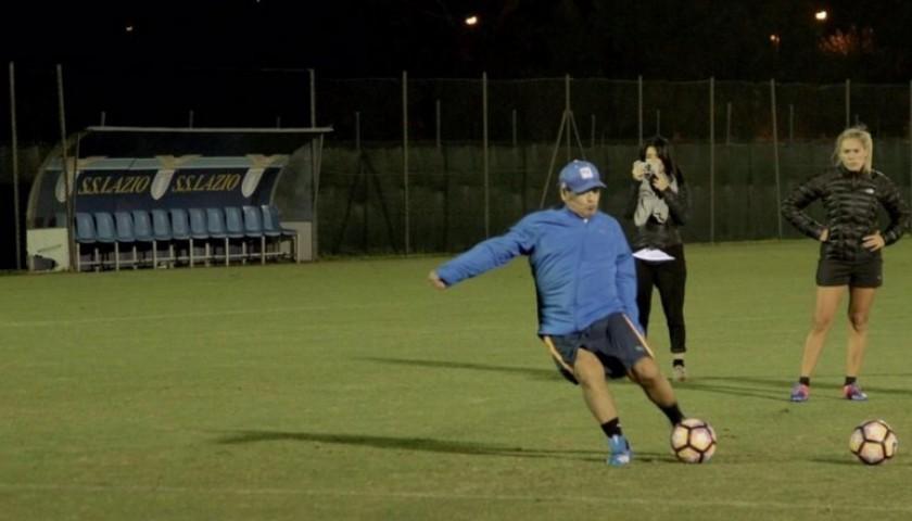 Match-Ball Serie A 2016/17 - Signed by Maradona