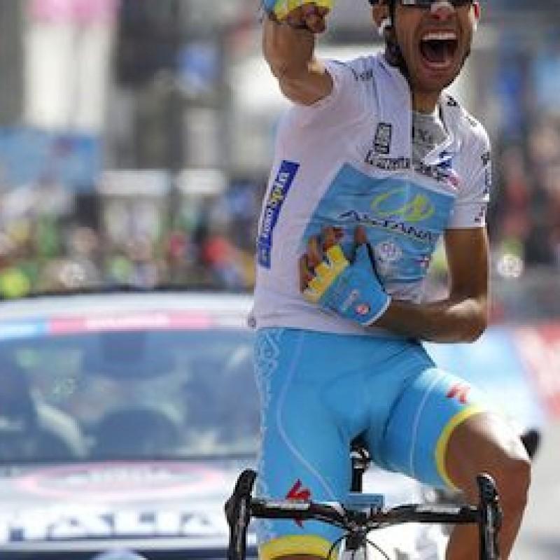 Fabio Aru white t-shirt from Giro D'Italia 2015