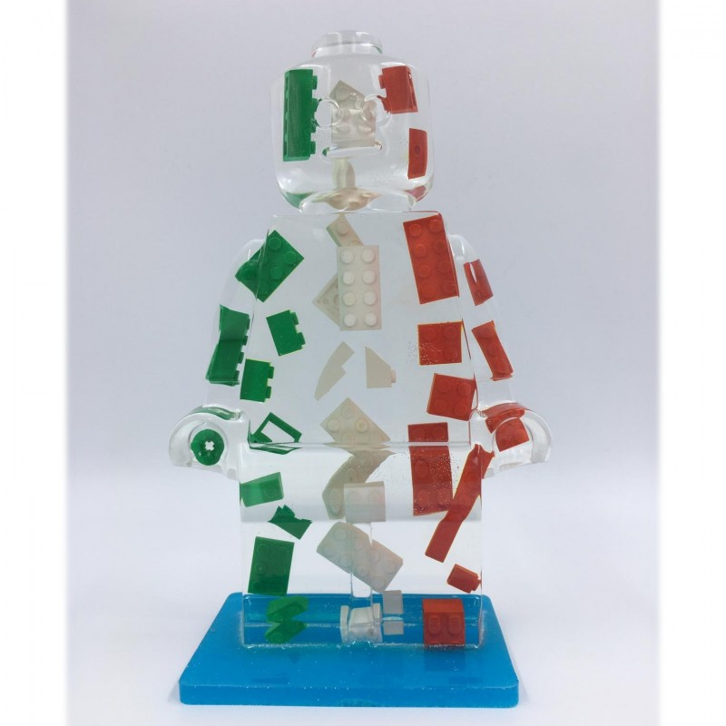 """""""Alter Ego Italy 160"""" - Sculpture by Alessandro Piano"""