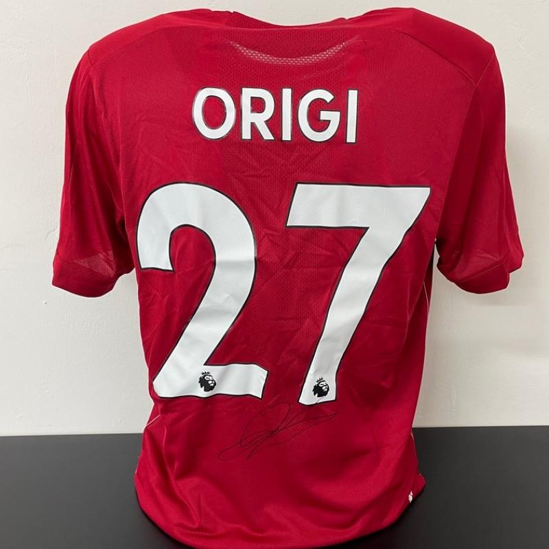 Origi's Official Liverpool Signed Shirt, 2019/20