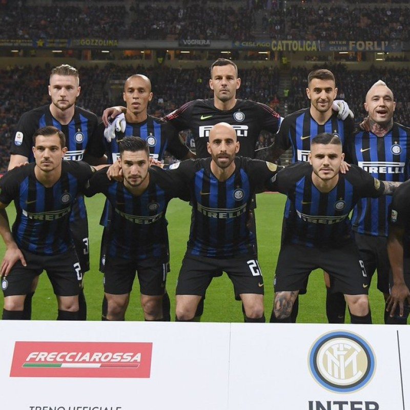 Skriniar's Worn Shirt, Inter-Chievo 2019 - Inter Forever Patch