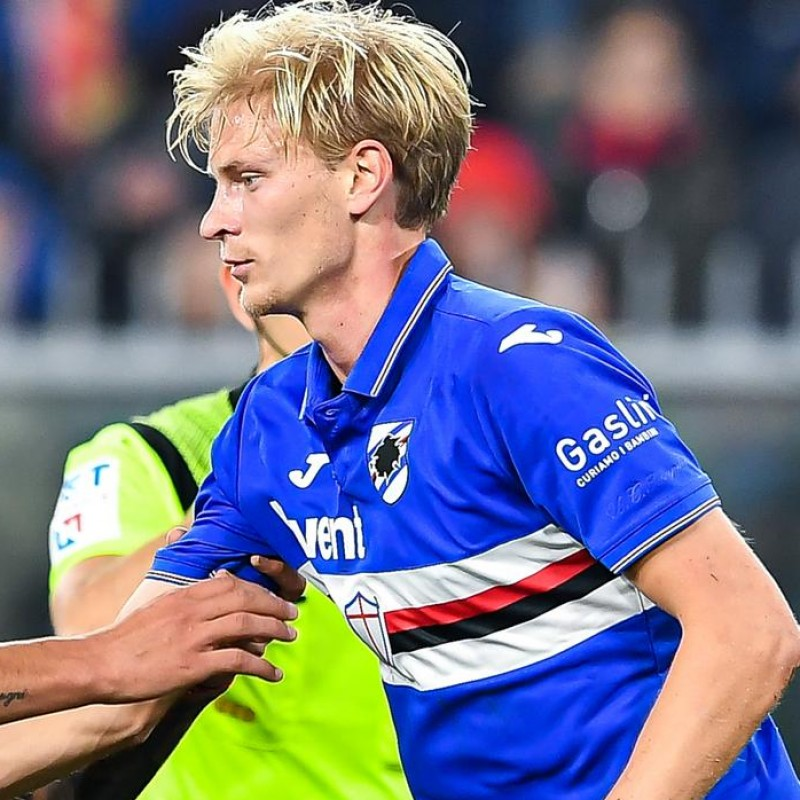 Thorsby's Worn Shirt, Genoa-Sampdoria, Special Gaslini