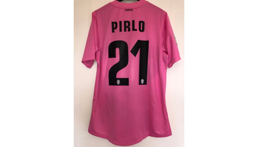 Pirlo's Match-Issued Shirt, Siena-Juventus 2012