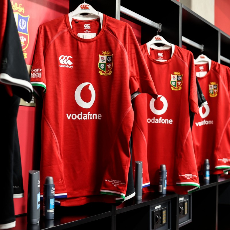 Lions 2021 Squad Signed Jersey