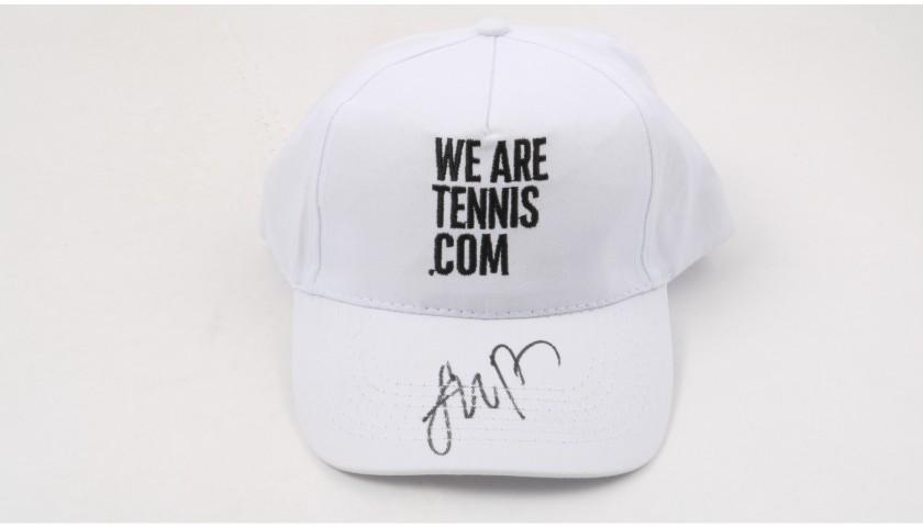 """""""Wearetennis.com"""" Cap Signed by Nick Kyrgios"""
