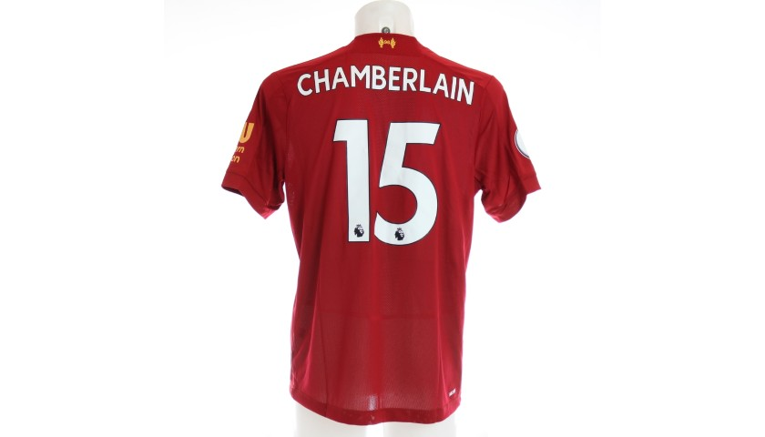 Oxlade-Chamberlain's Issued and Signed Limited Edition 19/20 Liverpool FC Shirt