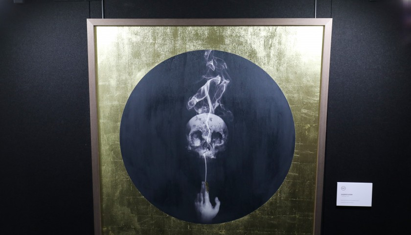 'Goldfinger' Limited Edition Print Signed by Magnus Gjoen