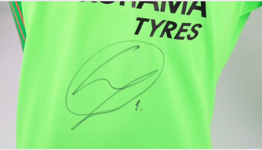 Arrizabalaga's Chelsea Match-worn and Signed Poppy Shirt