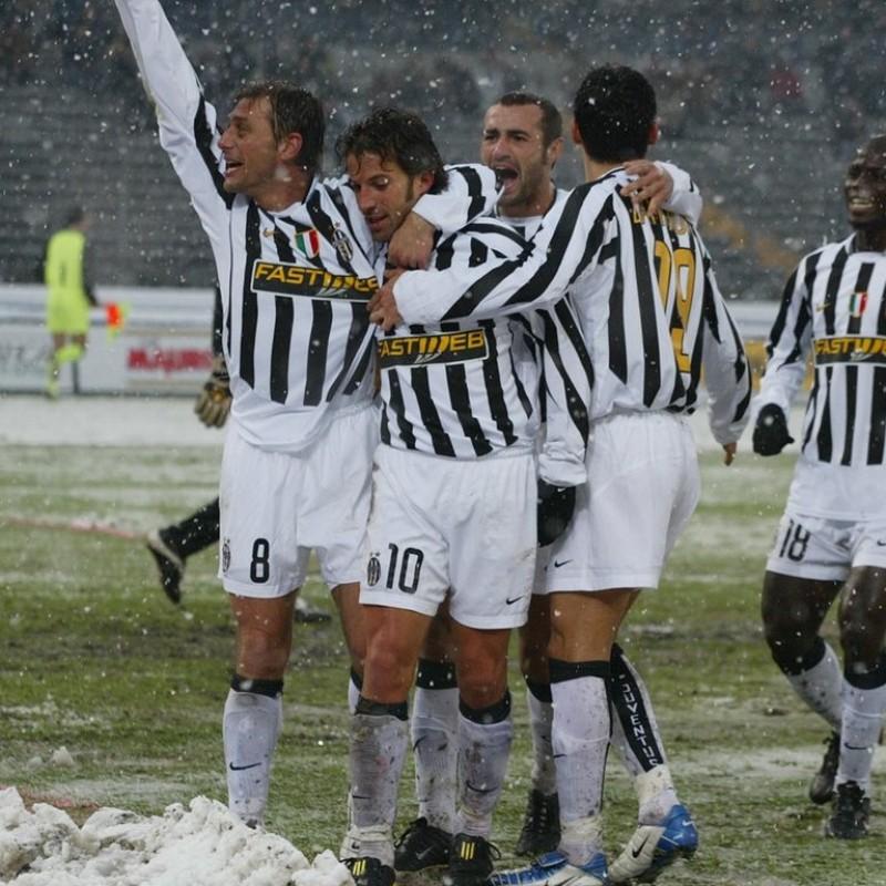 Del Piero's Juventus Match Shirt, Serie A 2004/05