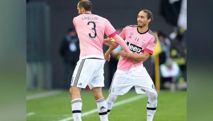 Caceres' Match Shirt, Juventus, 2015/16