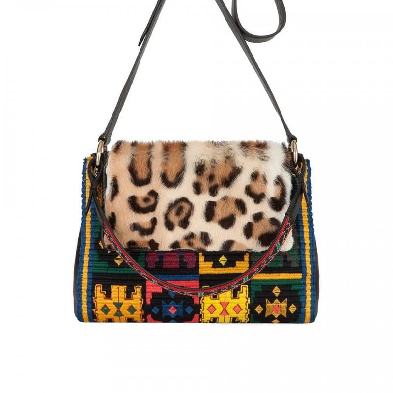 Etro Foulard Leather Bag