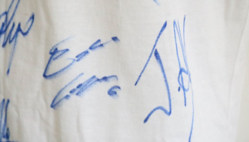 """Genova nel Cuore"" T-Shirt - Signed by Frosinone Squad"