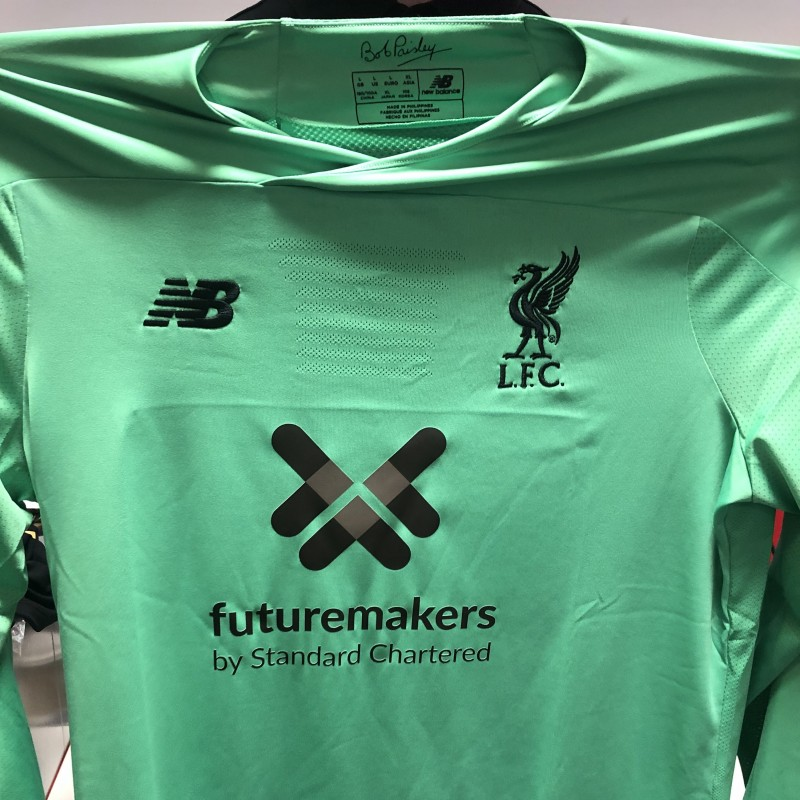 Adrián's Issued and Signed Limited Edition 19/20 Liverpool FC Shirt
