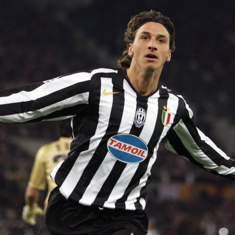 Ibrahimovic's Match-Issued/Worn Juventus Shirt, 2005/06 UCL