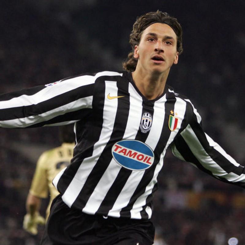 Ibrahimovic's Match-Issued/Worn Juventus Shirt, 2005/06 UCL