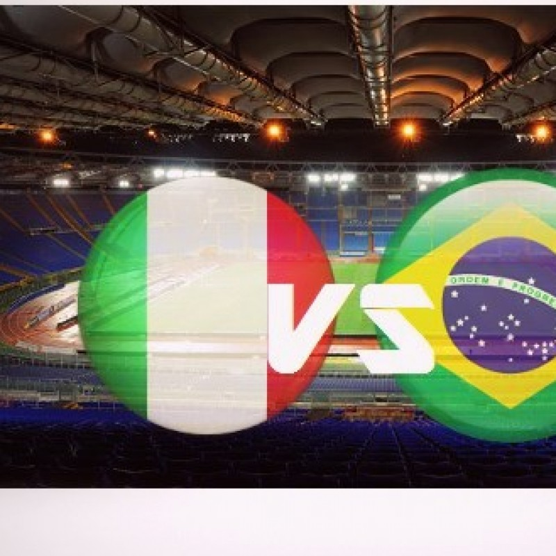"Two Vip seats for ""Partita Mundial"" Italy - Brasil"