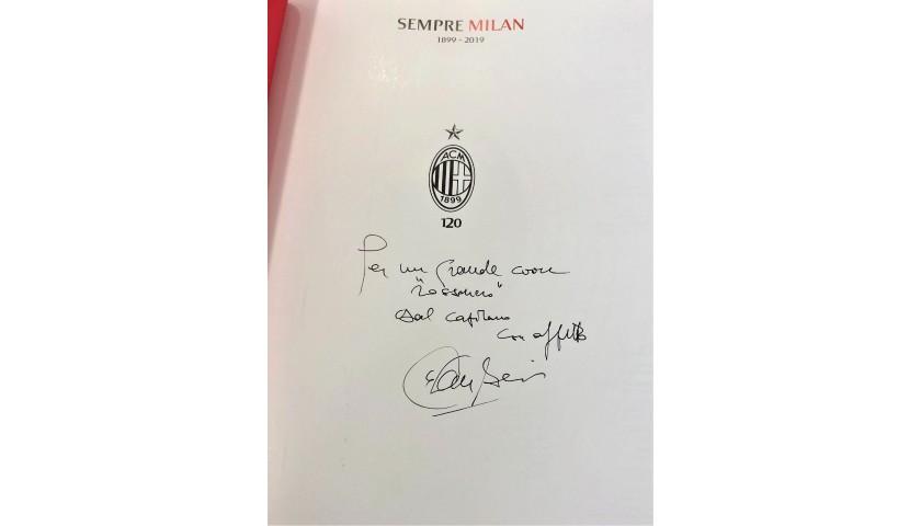 """Libro """"Sempre Milan"""" 1899-2019 - Autografato da Baresi"""