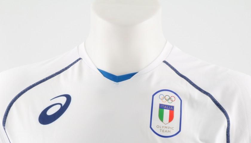 Match worn Centoni shirt, Rio 2016 - signed