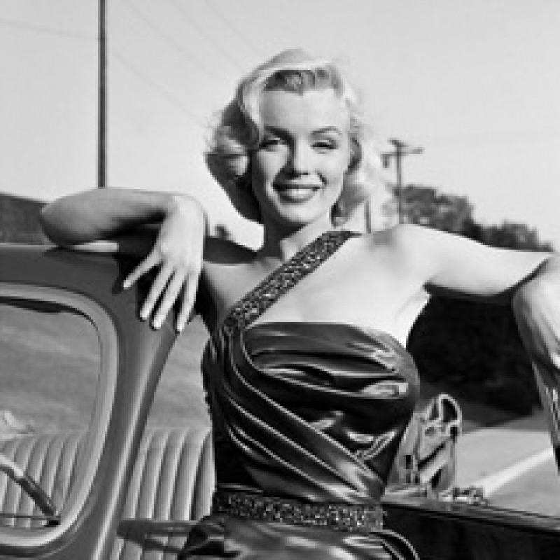 """Marilyn in Hollywood"" by Frank Worth"