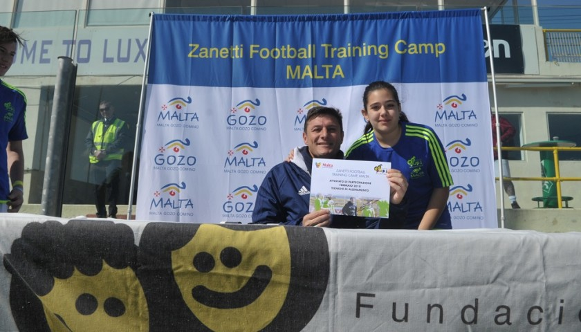 Attend the Zanetti Football Training Camp in Malta