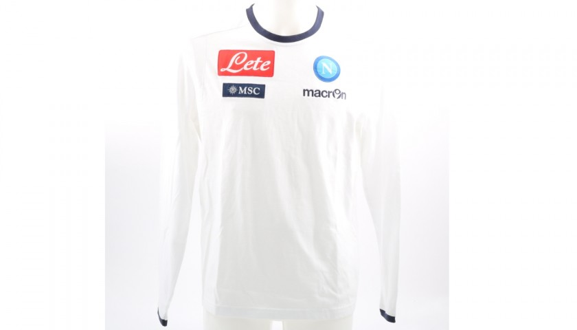 Official SSC Napoli 2013 14 Shirt - Signed by the Players - CharityStars 09ebb9247d029
