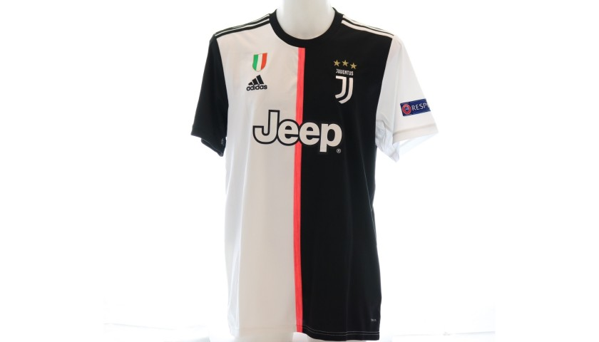 Costa's Official Juventus 2019/20 Signed Shirt
