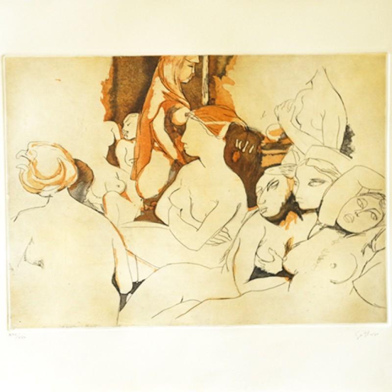 """""""Omaggio ad Ingres"""" by Renato Guttuso"""