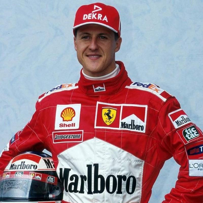 Ferrari Dekra Cap Personalized for Michael Schumacher
