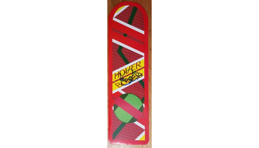 Back To The Future Michael J. Fox Autographed Hoverboard