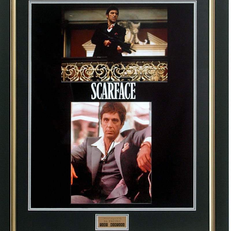 Al Pacino Hand Signed 'Scarface' Presentation